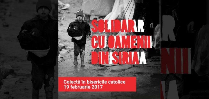 Solidar cu oamenii din Siria